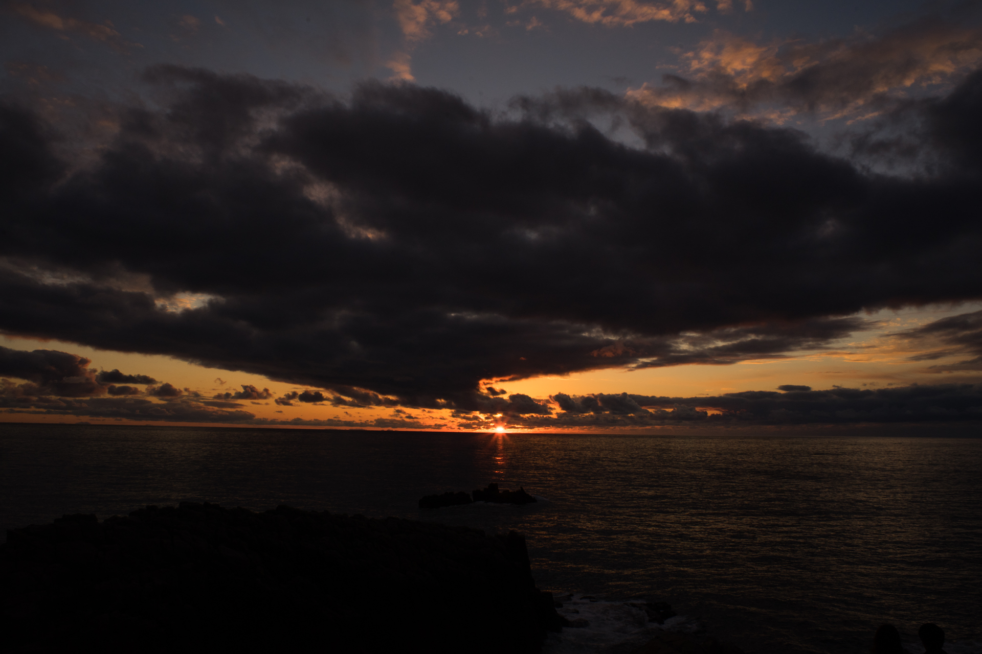 東尋坊 夕景 SMC TAKUMAR 28mm F3.5 作例