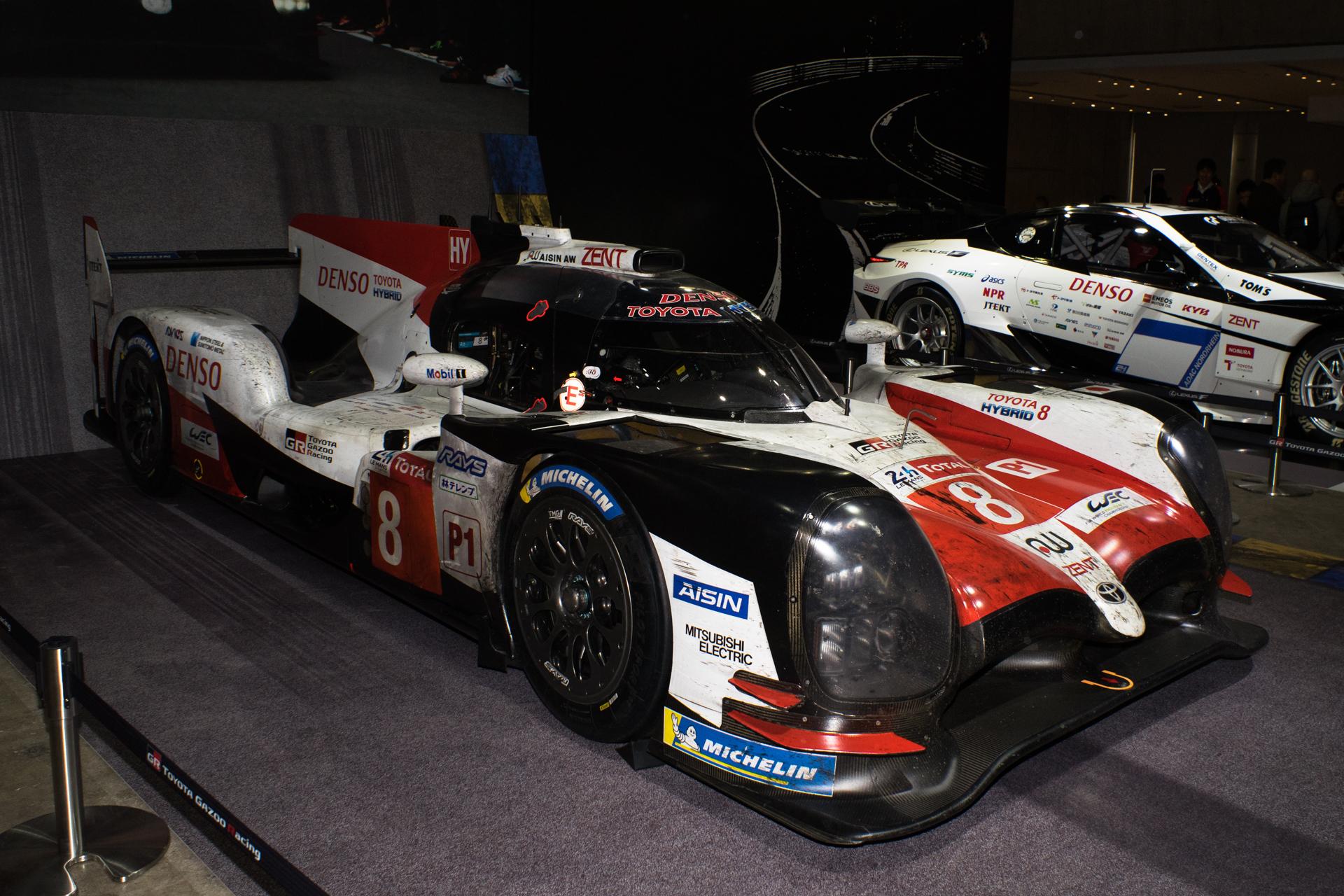 東京オートサロン2019 TOYOTA GAZOO Racing TS050 HYBRID