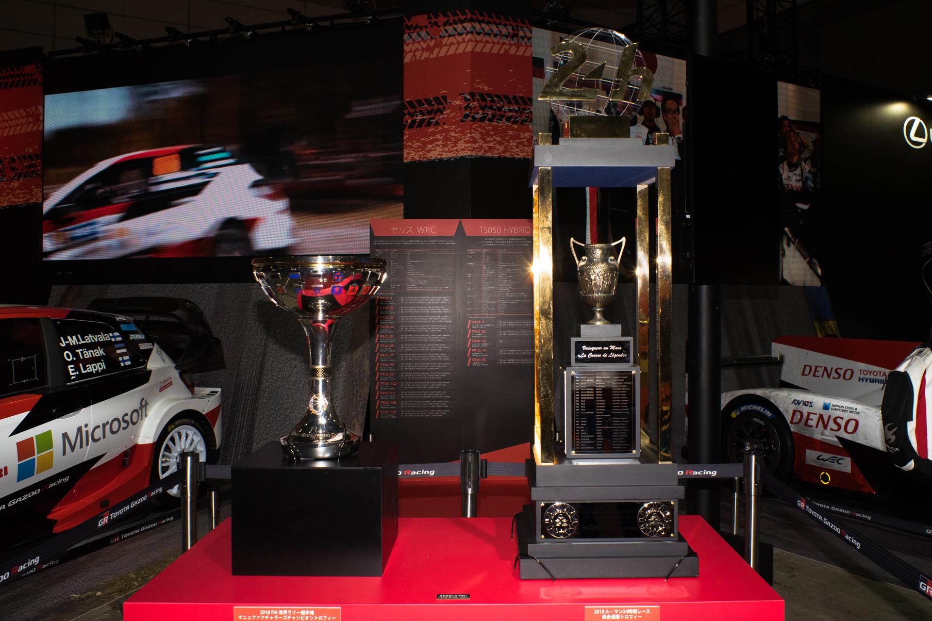 東京オートサロン2019 TOYOTA GAZOO Racing トロフィー