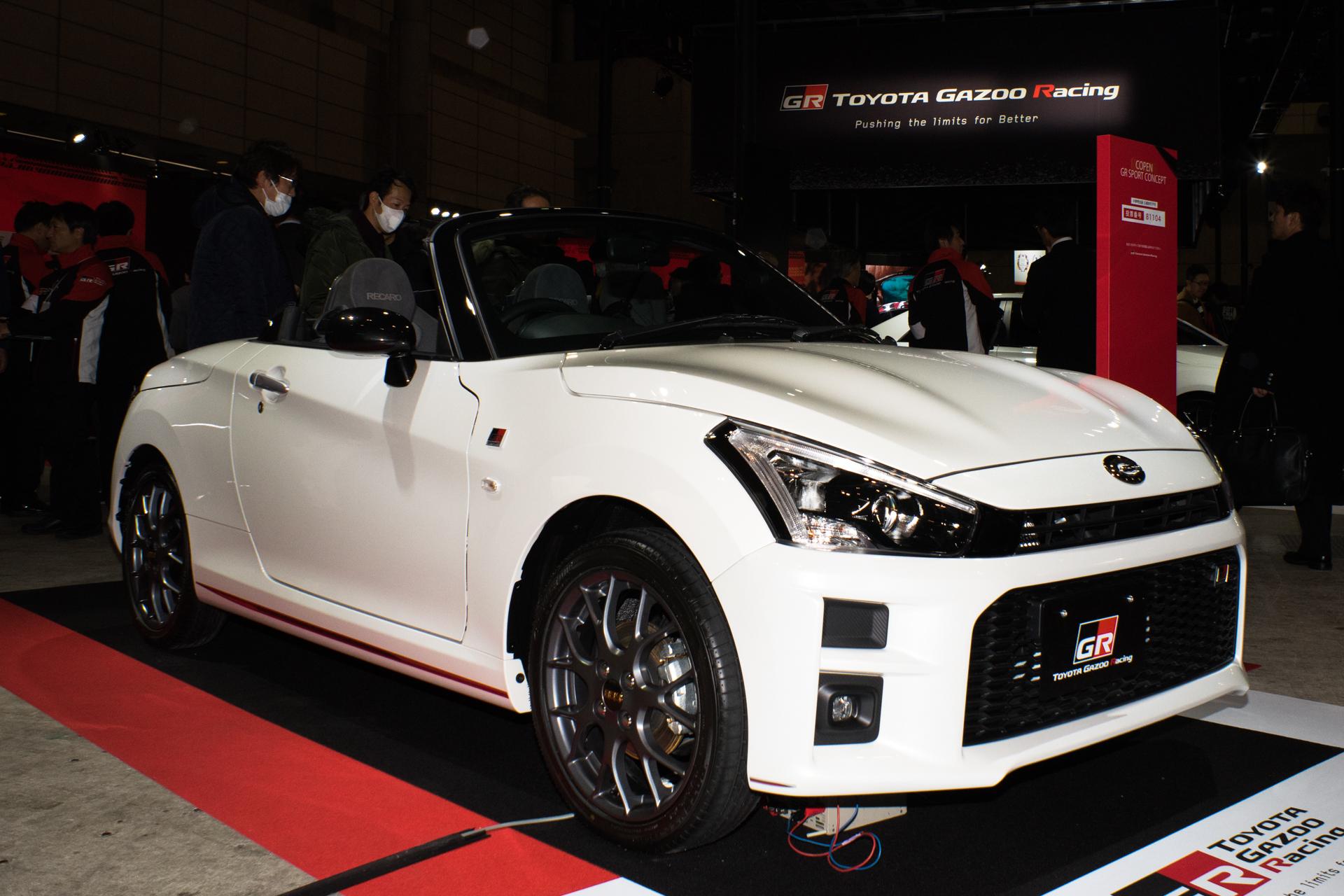 東京オートサロン2019 TOYOTA GAZOO Racing GRコペンGRスポーツコンセプト
