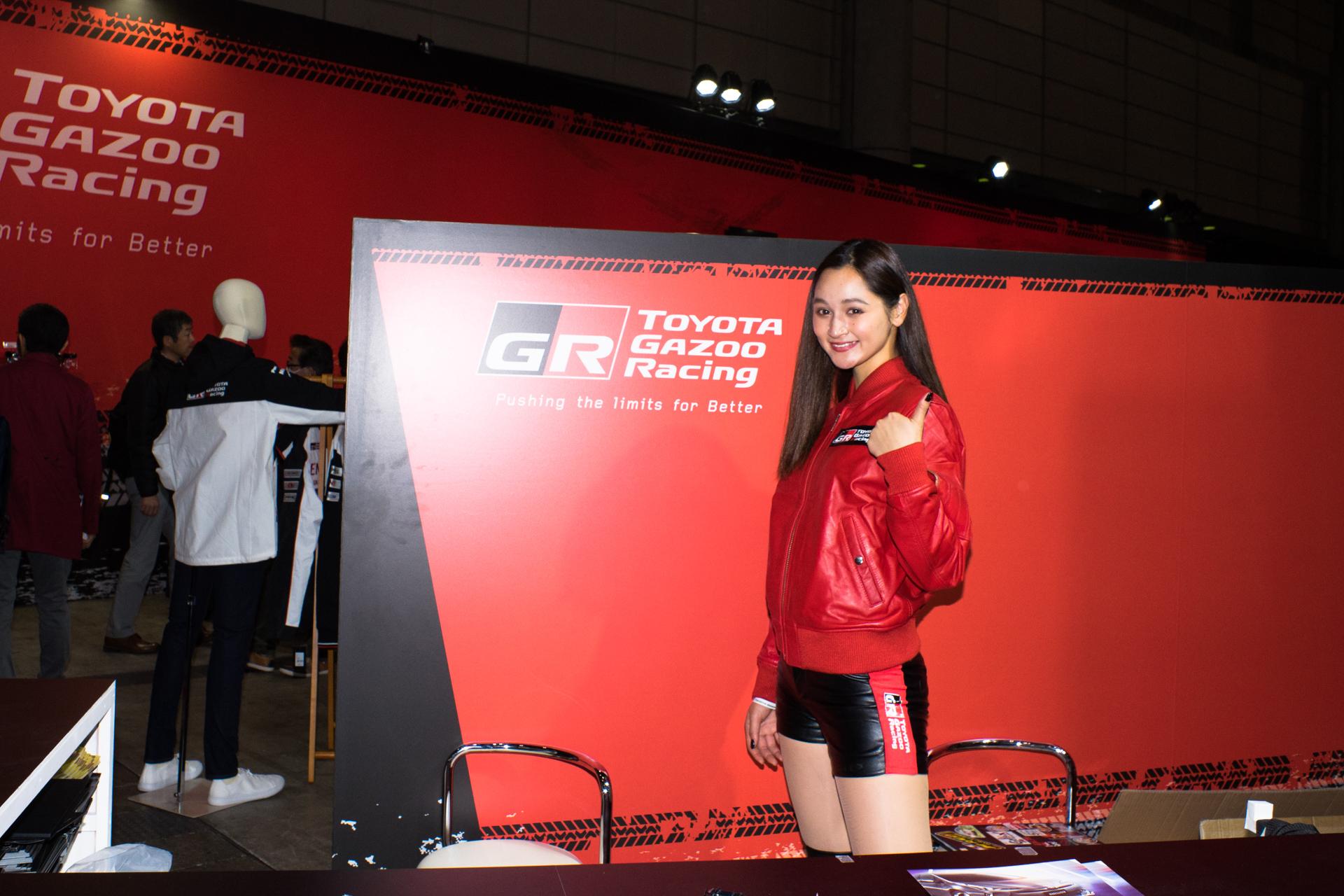 東京オートサロン2019 TOYOTA GAZOO Racing GAZOO Lady