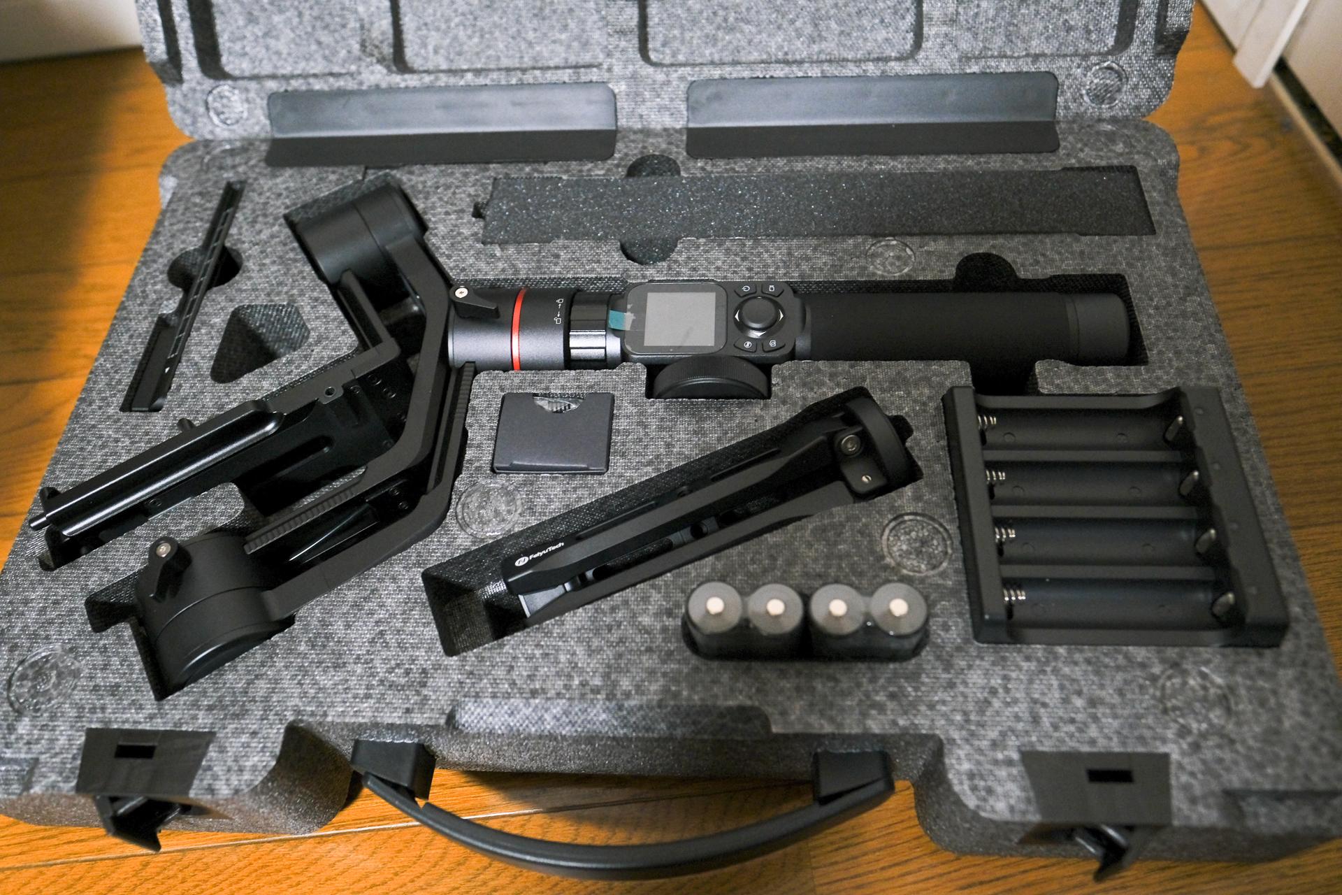 FeiyuTech新型ジンバルAK2000開封レビュー