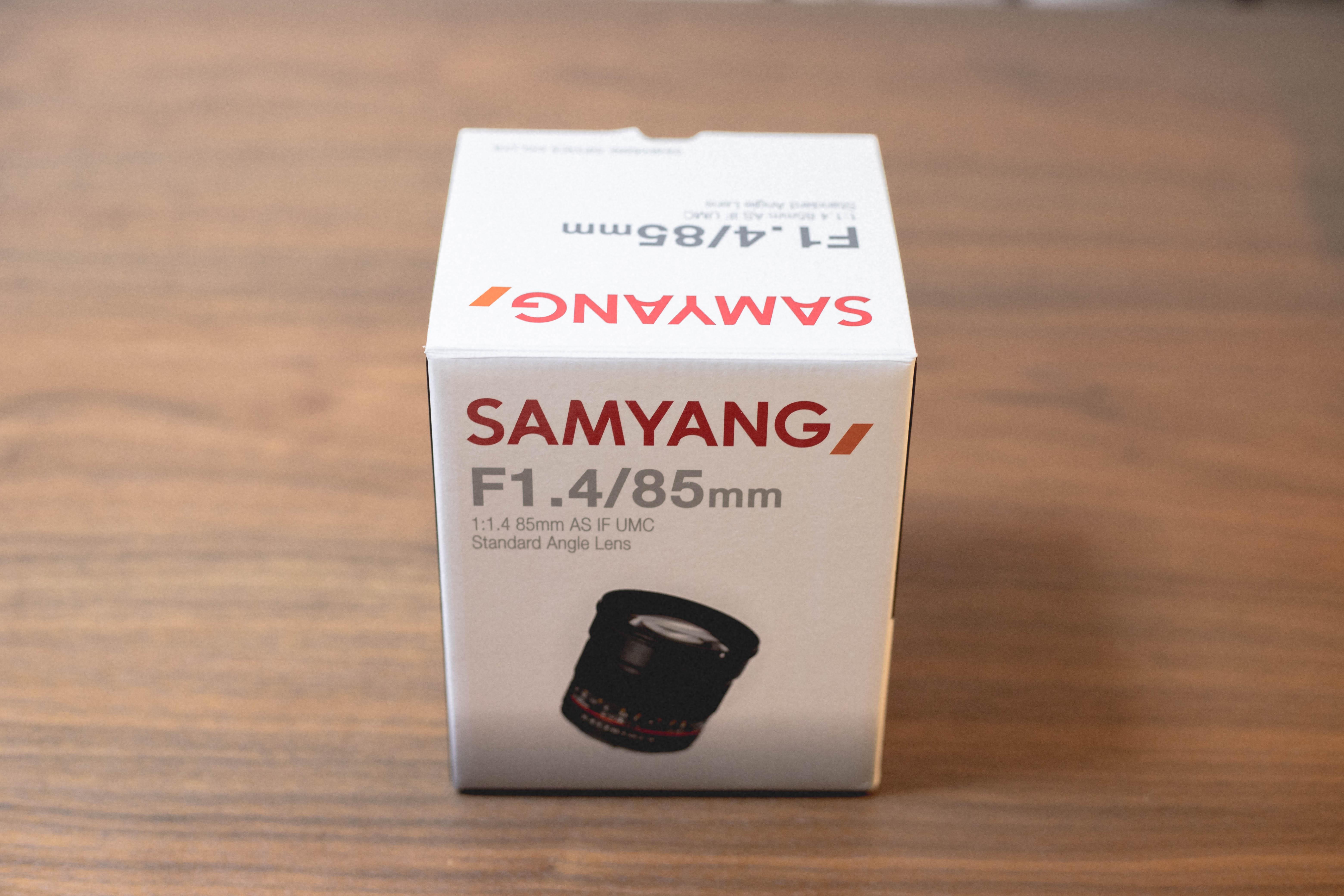SAMYANG85mm F1.4 × EOS 6D MarkⅡ