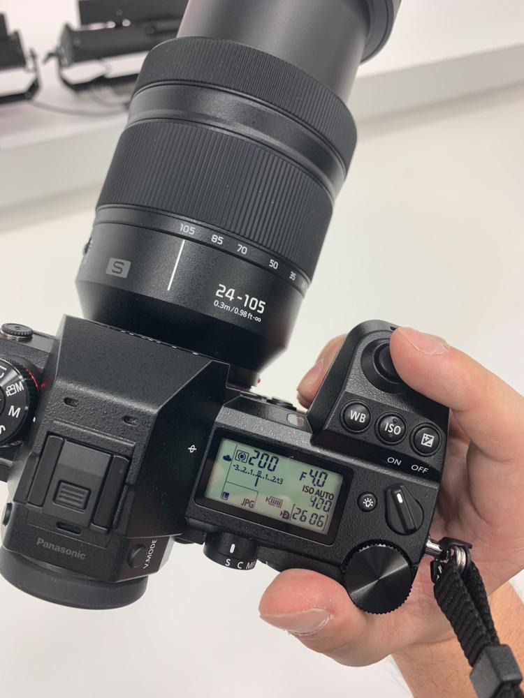 CP+2019 Panasonic SR1