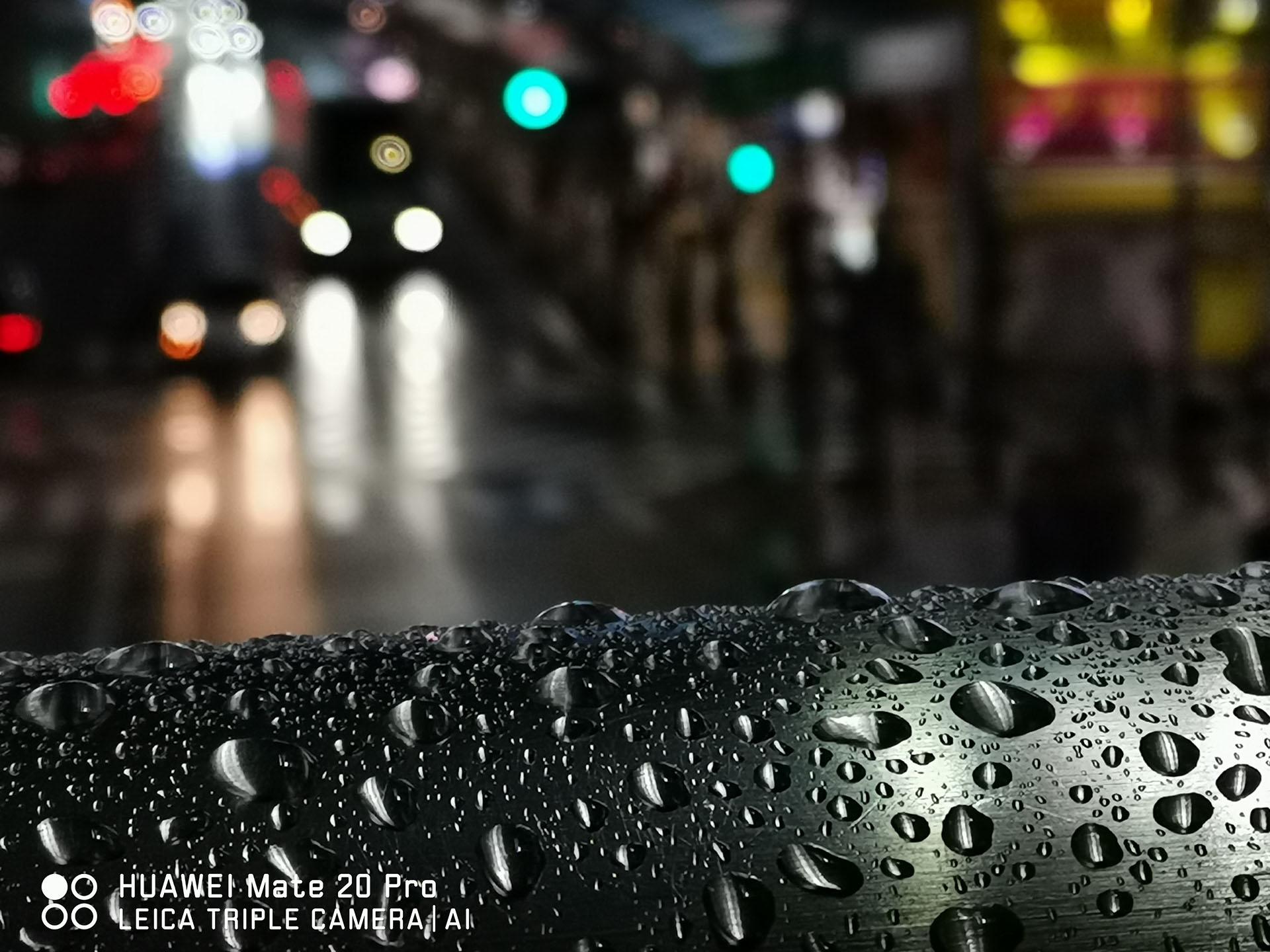 HUAWEI Mate20 Pro 作例 雨の日
